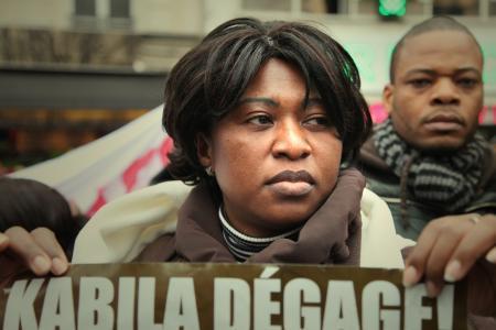 RDC : Photo-reportage avec les anti-Kabila de Paris